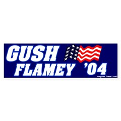 Mockery Gush Flamey Bumper Bumper Sticker