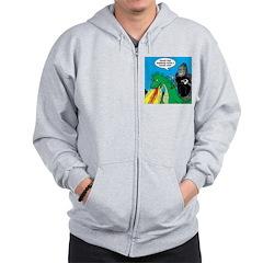 Godzilla Breath Mint Zip Hoodie