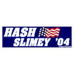 Mock It Hash Slimey 2004 Bumpersticker