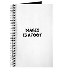 MAGIC IS AFOOT! Journal