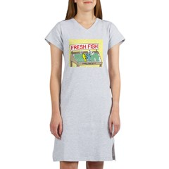 Fresh Fish Women's Nightshirt
