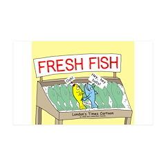 Fresh Fish Wall Decal
