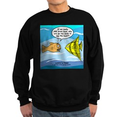 Fish Brain Food Sweatshirt