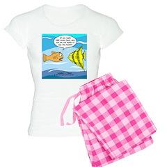 Fish Brain Food Pajamas