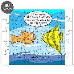 Fish Brain Food Puzzle