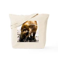 (14) Pig Profile  1966 Tote Bag