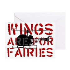 WingsAreForFaries2 Greeting Card