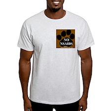 NO NSAIDS Ash Grey T-Shirt