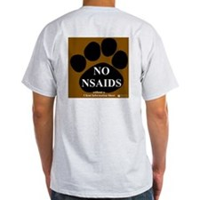 NO NSAIDS Ash Grey T-Shirt