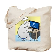 Elephant Memory Tote Bag