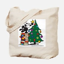 FELIX TOPPING THE TREE copy Tote Bag