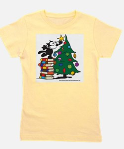 FELIX TOPPING THE TREE copy Girl's Tee