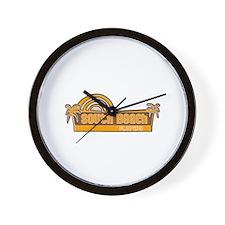 Unique Miami heat Wall Clock