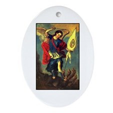 San Miguel - Guadalupe Oval Ornament