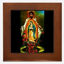 Juan Diego - Guadalupe Framed Tile