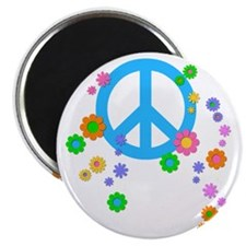 peace08-white Magnet