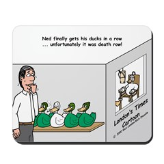 Ducks in a Row Mousepad