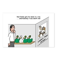 Ducks in a Row Postcards (Package of 8)