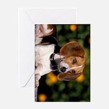 foxhound ipad Greeting Card