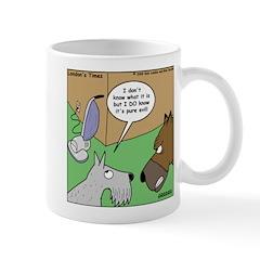 Dog and Vacuum Mug