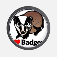 badgersilove Wall Clock