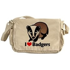 badgersilove Messenger Bag