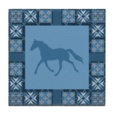 BlueSinglefoot Tile Coaster