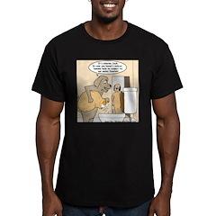 Dog Water Supply Men's Fitted T-Shirt (dark)