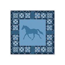 "BlueSinglefoot Square Sticker 3"" x 3"""