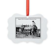 XRR- Engine 744 turntable Ottumwa Ornament