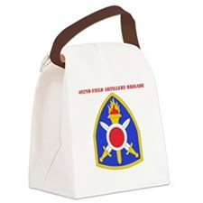SSI - 402nd Field Artillery Briga Canvas Lunch Bag