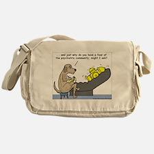 Dog Shrink Messenger Bag