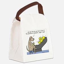 Dog Shrink Canvas Lunch Bag
