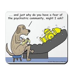 Dog Shrink Mousepad