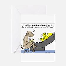 Dog Shrink Greeting Card