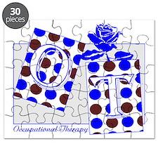 ot letter blocks brown blue Puzzle