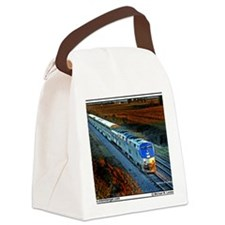 XRR-AMTRAK into sunset 2005 Engin Canvas Lunch Bag