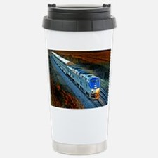 XRR-AMTRAK into sunset 2005 Eng Travel Mug