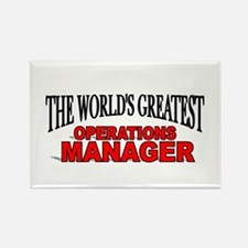 """The World's Greatest Operations Manager"" Rectangl"