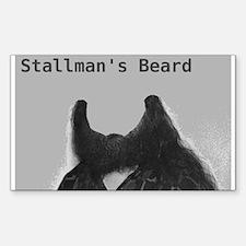 Stallman's Beard Decal