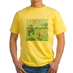Dog Owners Yellow T-Shirt