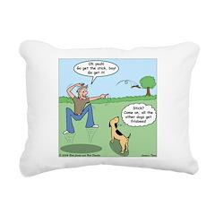 Dog Owners Rectangular Canvas Pillow