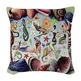 Mermaids Woven Pillows