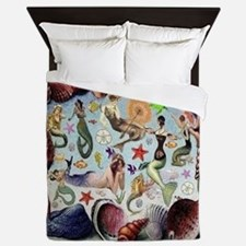Mermaids Queen Duvet