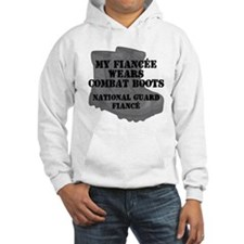 National Guard Fiance Combat Boots Hoodie