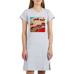 Crab Pickup Lines Women's Nightshirt