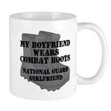 National Guard Girlfriend Combat Boots Mugs