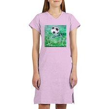 Soccer Goal Women's Nightshirt
