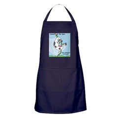 Cowzan of the Apes Apron (dark)