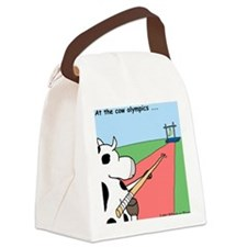Cow Olympics Canvas Lunch Bag